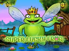 Игровой автомат на деньги Супер Удачливая Лягушка