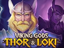 На зеркале портала Вулкан Боги Викингов: Тор И Локи для новичков